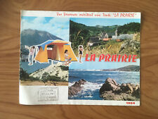 CATALOGUE CAMPING 1964 TENTE LA PRAIRIE    J29