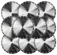 "10PK-14"" Hard Concrete Grenitestone Brick Paver 16MM Seg Diamond Saw Blade-BEST"