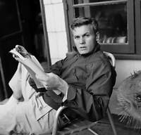 OLD MOVIE PHOTO Actor Tab Hunter Poses At Home In Los Angeles California 11