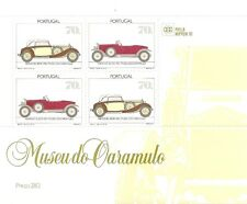 Portugal-Cars Museums-2Souv. Sheets nrs.125 e 127-4x2 dif.stamps-3574/94 Afinsa