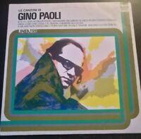 LE CANZONI DI GINO PAOLI*1976- DISCO VINILE 33 GIRI* N.209