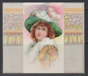 CIGARETTE CARDS Duke 1886 Beauties (folders) - single folder