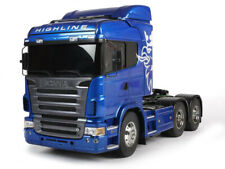 56327 Tamiya Truck Scania BLUE R620 Highline 1/14th R/C Electric Truck Kit COMBO