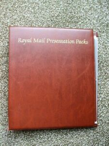 Royal Mail Presentation Pack Album With 13 Empty Sleeves