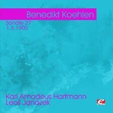 Benedikt Koehlen - Hartmann: Sonate 27 Janacek [New CD] Manufactured On Demand