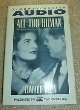 All Too Human: The Love Story of Jack and Jackie Kennedy JFK AUDIOBOOK + FREE CD