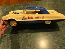VINTAGE 1963 IDEAL DICK TRACY COPMOBILE POLICE CAR **FOR PARTS OR RESTORATION**