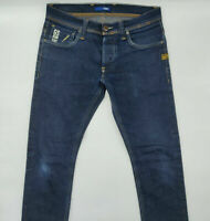 G-Star Defend Super Slim 50627 W30 L28 blau Designer Denim Herren Vintage Jeans