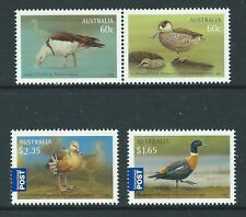 AUSTRALIA 2012 WATER BIRDS SET OF 4 UNMOUNTED MINT,MNH