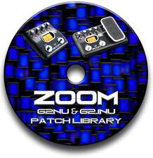 Pedales de efectos Zoom para guitarras y bajos