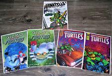 5 Eastman Laird's TMNT Comics Donatello #1 Gizmo & Fugitoid TMNT Vol. 2 #2 & #4