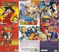 3 box set Anime DVD Dragon Ball+Dragon Z+Dragon GT Japan Series TV FREE SHIPPING