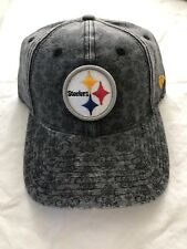 Pittsburgh Steelers Woman's Gray New Era Sidelin2 9TWENTY Adjustable Hat $24