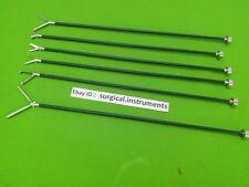 6 PC Laparoscopic Grasping Forcep 5mmx330mm Laparoscopy Surgical Instruments