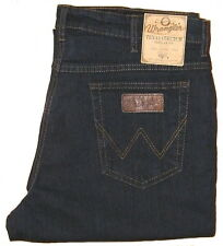 WRANGLER TEXAS STRETCH W 40 L 36 blue black 75001 NEU !