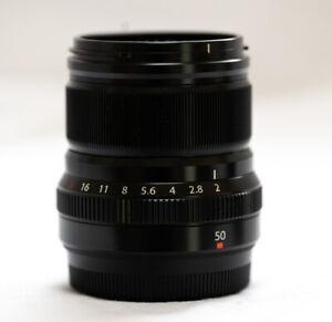 Fujifilm Fujinon XF 50mm F/2.0 WR Lens, boxed, immaculate
