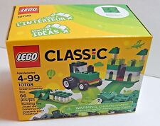 Lego Classic Ages 4-99 10708 Green Creativity Box 66 Pieces New Sealed