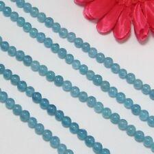 3 Strang Aquamarin Farbe Quarz 6mm Kugeln Lose Perlen
