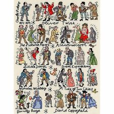 BOTHY THREADS CHARLES DICKENS BOOKS & CHARACTERS CROSS STITCH KIT