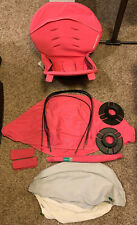 Orbit Baby G2 Stroller Watermelon Color Fabric Pack Seat Hood Canopy Upholstery