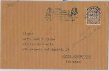 ITALIA REPUBBLICA  Storia Postale: FRANCOBOLLO FISCALE Regno usato su BUSTA 1975