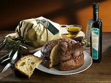 "4 "" PAN TAVERNA "" PANETTONE ALL' OLIO  EXTRA VERGINE D'OLIVA 1 KG. LE CHICCHE"