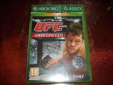 UFC 2009 UNDISPUTED JEU XBOX360 PAL Version Française complet
