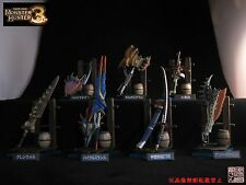 CAPCOM Monster Hunter MH3 Hunting Weapon Collection Vol.2, full set of 8 ////