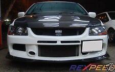 REXPEED Carbon Ralliart style splitter lip Mitsubishi EVO 9