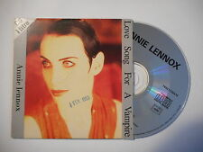 ANNIE LENNOX : LOVE SONG FOR A VAMPIRE (1 titre) [ CD SINGLE RTL PORT GRATUIT ]
