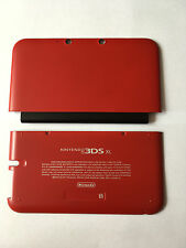 New Replacement Part A+E Cover/Shell/Housing For Nintendo 3DS XL Red