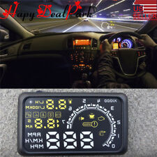 "5.5"" Car OBD2 II HUD Head Up Display Fuel Consumption Speed Warning System 12V"