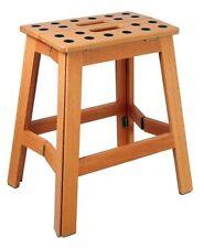 """Cabanaz  Klapptritt Holz H 41cm """"James Wood XL"""" Tritt Hocker Klapphocker 1001917"""