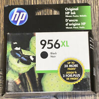 Genuine HP 956XL Black Ink Cartridge LOR39AN Expires 04/2021 NEW in BOX