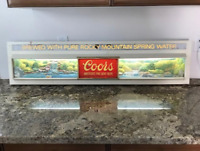 Vintage Coors Beer Sign  51 Inches LONG and Lights Up! Bar Advertising