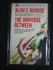 Alan E Nourse THE UNIVERSE BETWEEN Vintage PB Paperback Library 52-462 1st 1967