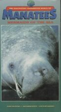 Manatees, Mermaids of the Sea - Vhs Home Movie Video Tape