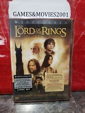 The Lord of the Rings: The Two Towers (Dvd, 2003, 2-Disc Set, Widescreen Two Di…