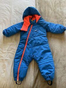 Boy's Ski Sledge Snowsuit - 18-24 months