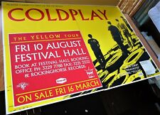 COLDPLAY POSTER AUSTRALIA TOUR 2001 Concert Brisbane 4 SHEET BILLBOARD 152x204cm