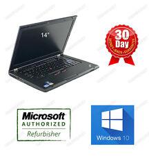 "Lenovo Thinkpad T420S Laptop i5 2.5GHz 3G 320G Webcam DVDRW Win10H 14""W 3.0USB"