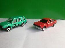 Majorette Toyota Celica + Toyota 4WD