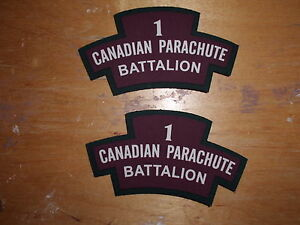 ww2 1st Canadian Parchute Battalion reproduction