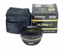 Yashica Ultra 0,43x Wide Angle+Macro 58 mm Boxed Dealer 3D 0 Lux