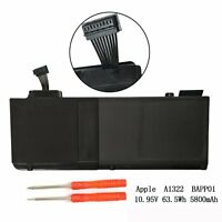 """Genuine A1322 Laptop Battery For Apple Macbook Pro 13"""" A1278 Mid 2010/2011/2012"""