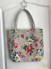 Joules floral tote bag with pink striped interior - in great condition