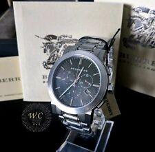 BURBERRY BU9351 - Mens Chronograph Sapphire Crystal Swiss Watch - 1 YR WARRANTY
