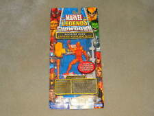 ToyBiz Marvel Universe Legends Showdown Human Torch Pack New Rare HTF Game