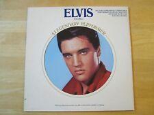 Elvis Presley LP, A Legendary Performer Volume 3, insert Illustrated Memory Log