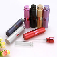 8/15ml Refillable Travel Perfume Aftershave Atomizer Atomiser Pump Spray Bottle
